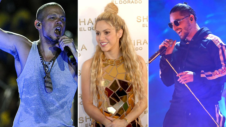 Residente, Maluma, Shakira y Juanes, los más nominados en los Grammy Latino