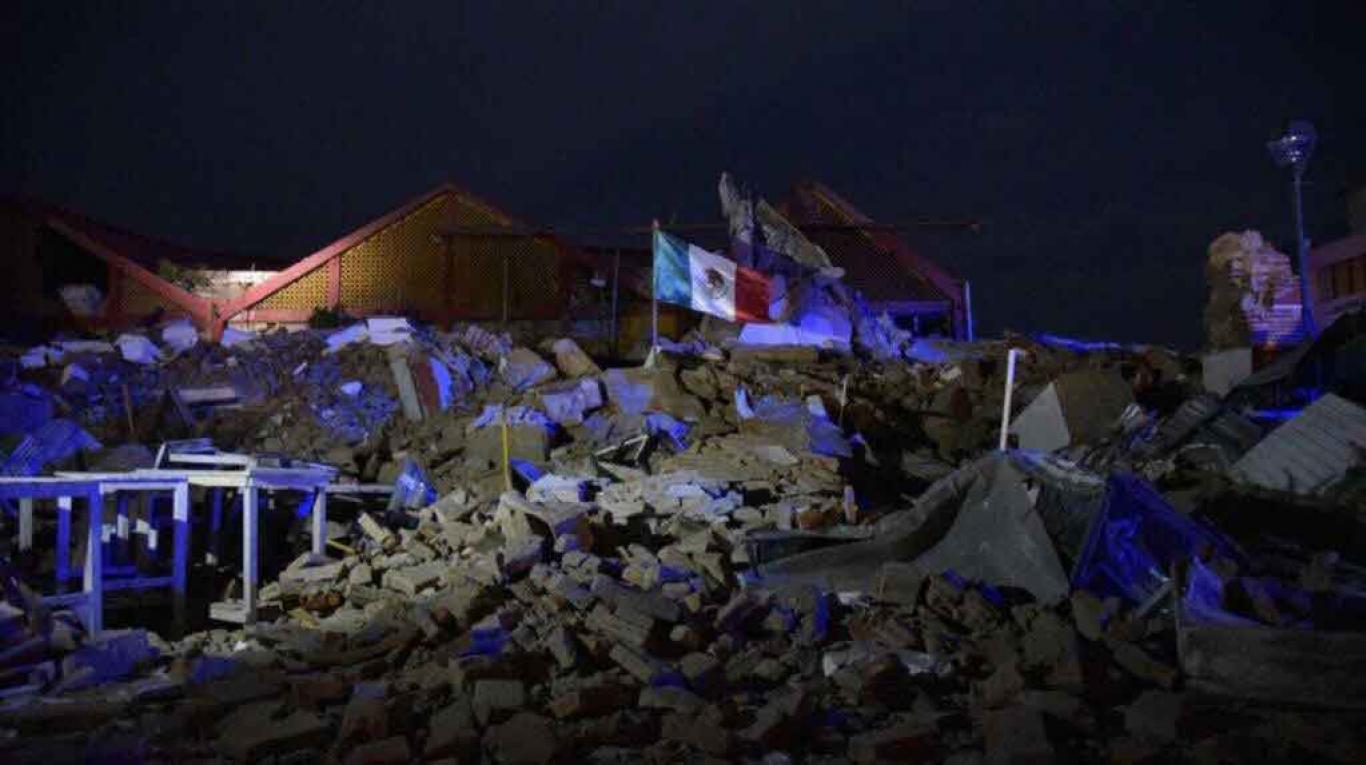 Al menos 32 personas han muerto tras un terremoto en México