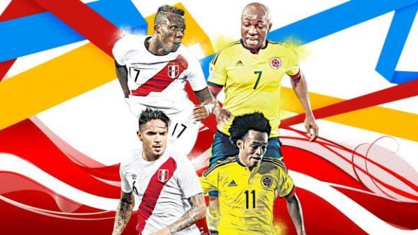 Perú-Colombia: un partido de infarto