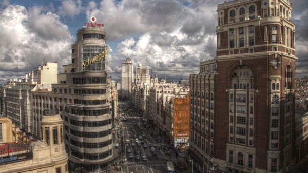 La Gran Vía de Madrid será peatonal en Navidad