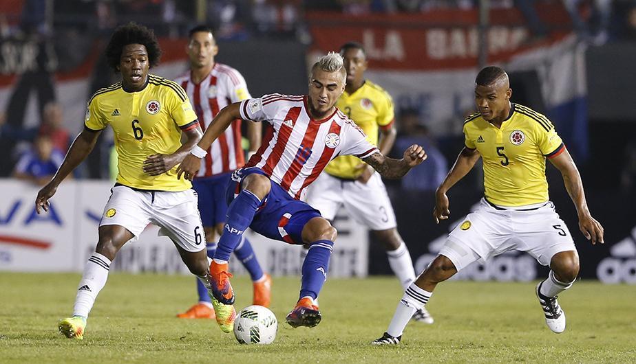 Colombia en su propia casa fue humillado por Paraguay