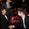 El admirador número uno de Messi es el hijo de Cristiano Ronaldo