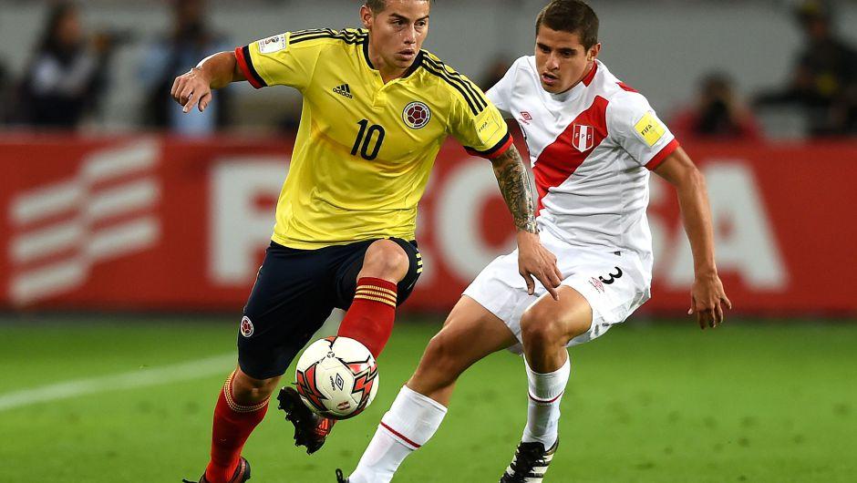 Colombia clasificó al Mundial de Rusia y Perú jugará el repechaje con Nueva Zelanda