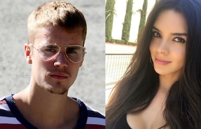 Esta mexicana que vivió en Colombia sería la nueva novia de Justin Bieber