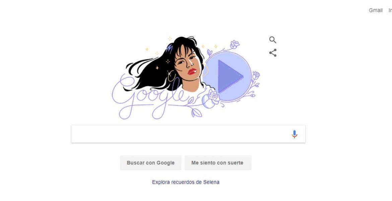 Selena Quintanilla es homenajeada por Google