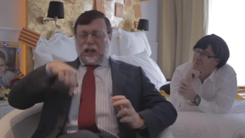 Los Morancos también parodian a Puigdemont