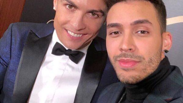Prince Royce amenizó el fiestón de Cristiano Ronaldo en Madrid