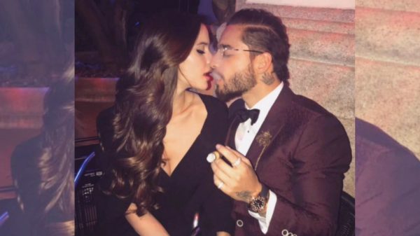 Maluma ya no esconde a su preciosa novia