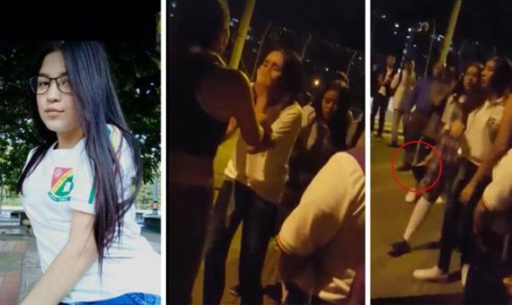 ¡Conmoción en Colombia! Menores de edad acuchillan a compañera de colegio