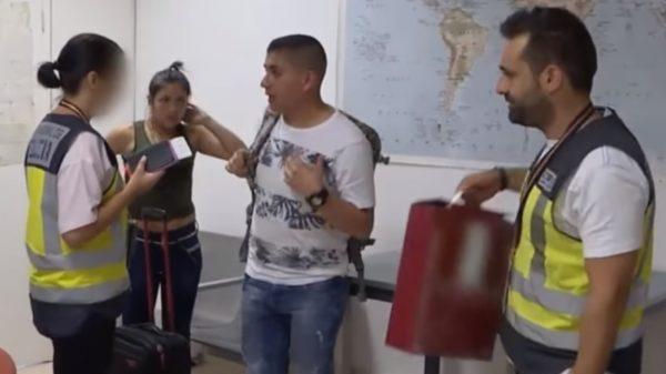 Es policía antinarcótico en Colombia y lo capturan en España con droga