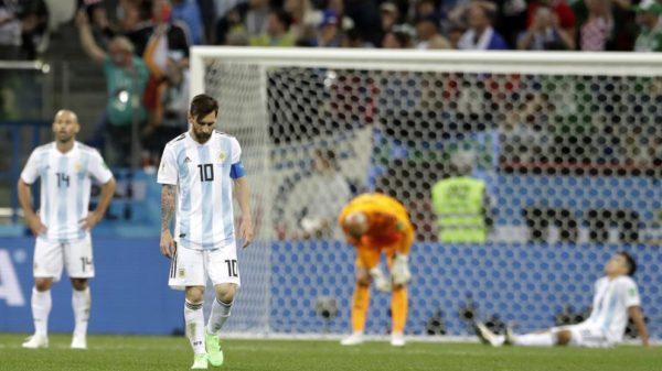Tras el desastre ante Croacia en Argentina piden que Messi se vaya de la selección