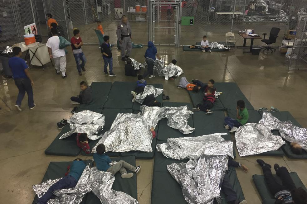 Indignación mundial por el trato vejatorio de Estados Unidos a niños inmigrantes