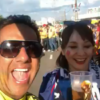 Hinchada colombiana en Rusia avergüenza a todo un país