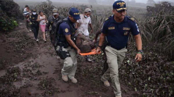 El Volcán de Fuego de Guatemala mató a más 25 personas