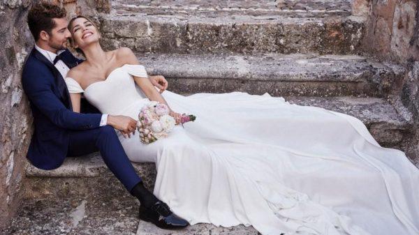 David Bisbal y la venezolana Rosanna Zanetti son marido y mujer