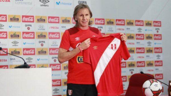 Ricardo Gareca renovará con Perú por cuatro años más