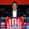 El colombiano Santiago Arias fue presentado como nuevo jugador del Atlético de Madrid