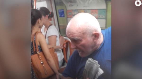 """Nuevo ataque racista en el Metro de Madrid: """"""""Vete a Italia, vete a Canadá, vete a Finlandia, vete a Dinamarca"""""""