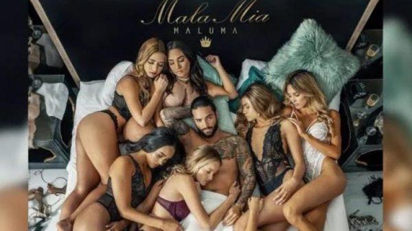 """Maluma es tendencia en YouTube gracias a """"Mala mía"""", su canción más machista"""
