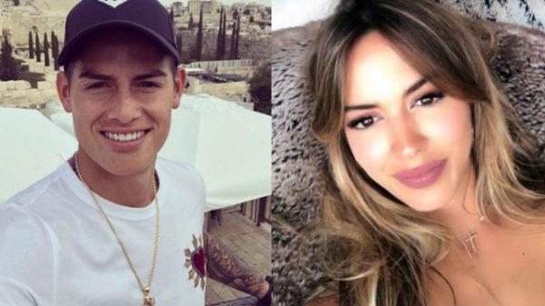 James Rodríguez podría haber encontrado de nuevo el amor con la ex de Marc Anthony
