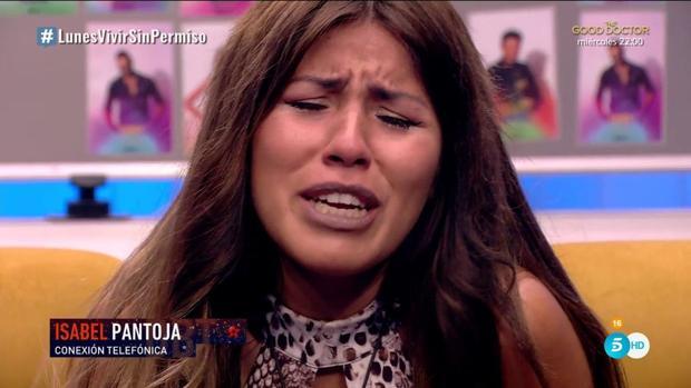"""Isabel Pantoja llama a """"GH VIP"""" y Chabelita se rompe: """"¡Quiero irme contigo!"""""""
