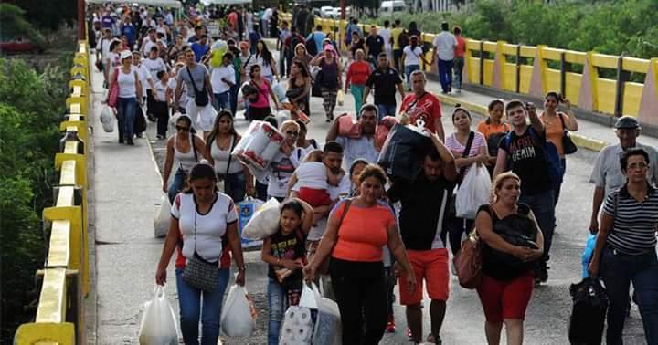 El éxodo de venezolanos a Colombia es alarmante