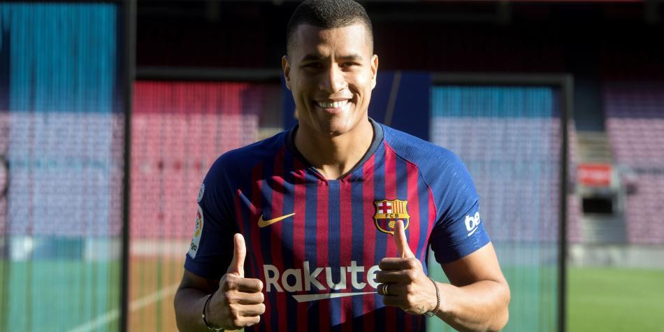 EL FC Barcelona presentó al colombiano Jeison Murillo como su nuevo jugadorEL FC Barcelona presentó al colombiano Jeison Murillo como su nuevo jugador