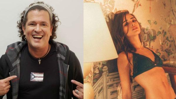 Carlos Vives no lleva bien que su hija se desnude en Instagram