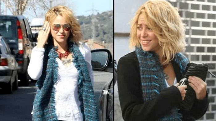 Shakira deja su larga cabellera y estrena nuevo look