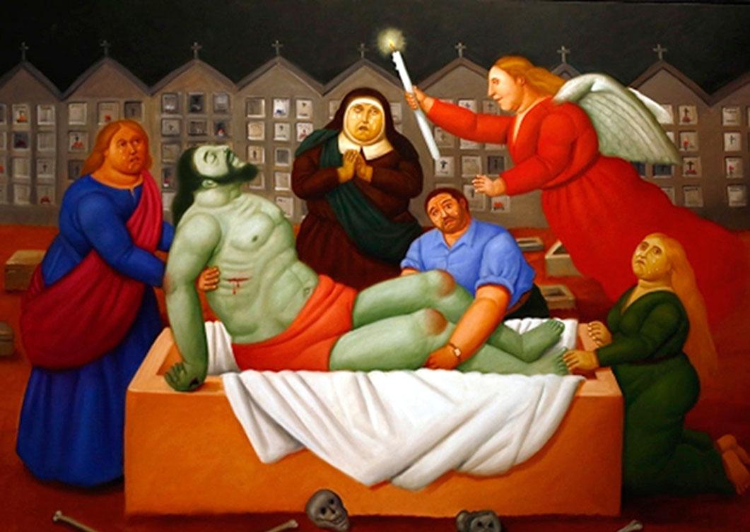 Botero Inaugura Personalmente Su Exposición En Madrid