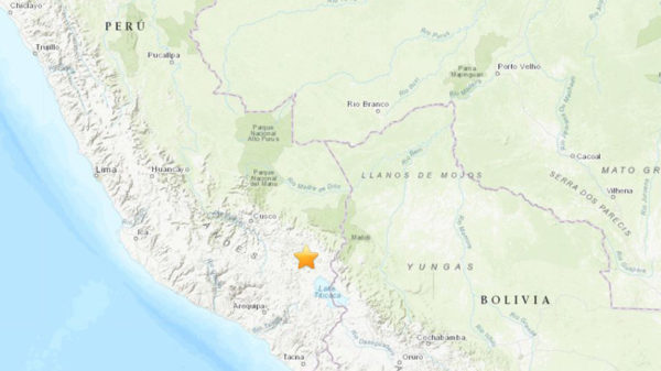 Un sismo de magnitud 7,1 sacude Perú