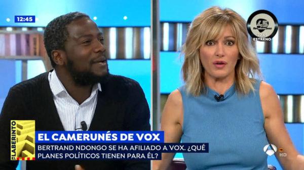 """Susanna Griso al 'negro de VOX': """"No tienes legitimidad para hablar de Franco"""""""