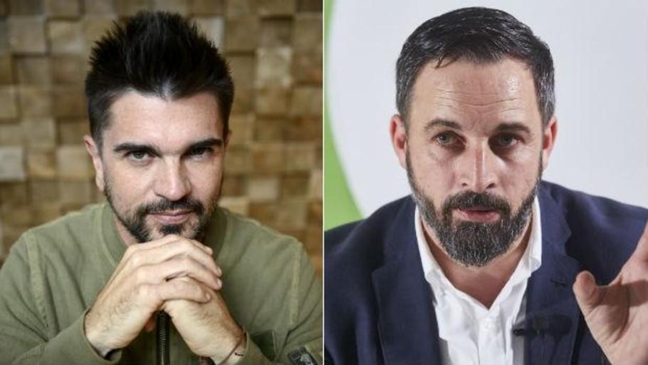 """Los de Vox se """"adueñaron"""" del """"A Dios le pido"""" de Juanes"""