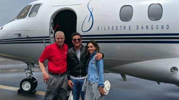 Silvestre Dangond presentó en sociedad su nuevo avión privado