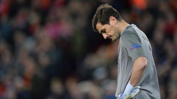 Iker Casillas ha sufrido un infarto de miocardio durante el entrenamiento matinal con el Oporto