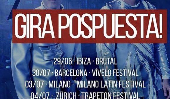 Conciertos de reggaeton en Europa se desmoronan como fichas de dominó y artistas como Wisin y Yandel suspenden giras