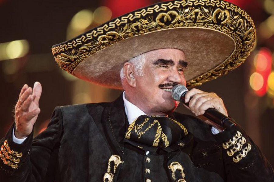 Vicente Fernández cumple 80 años y toda su familia lo celebra